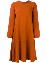 long sleeve a-line dress Odeeh
