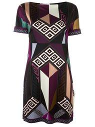 multi print dress Versace Collection