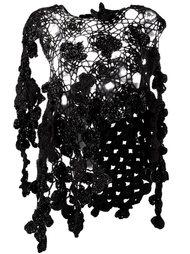 'Flora' knitted overlay Simone Rocha