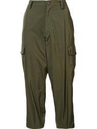 cropped trousers Yohji Yamamoto