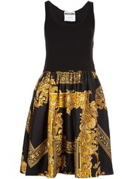 baroque frame dress Moschino