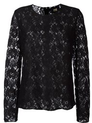 lace longlsleeved top Cavalli Class