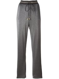 striped waistband track pants Cavalli Class