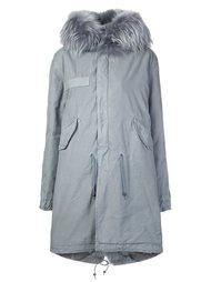 fur collar parka  Mr & Mrs Italy