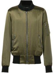 contrast trim bomber jacket Amiri