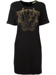 studded embellished T-shirt dress Versace Jeans
