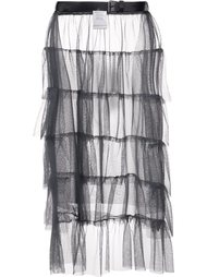 ruffled sheer skirt  Area Di Barbara Bologna