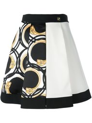 printed pleated full skirt Cavalli Class