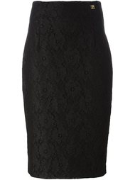 lace pencil skirt Cavalli Class