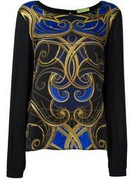 printed top Versace Jeans