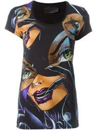 """футболка с принтом """"Catwoman"""" Philipp Plein"""