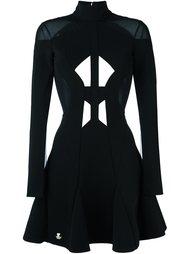 платье с вырезами  Philipp Plein