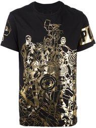 футболка 'Power Team' Philipp Plein