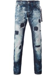 джинсы прямого кроя 'String' Philipp Plein