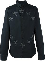 рубашка с принтом звезд  Philipp Plein