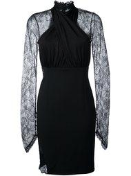 платье с кружевными вставками  Philipp Plein