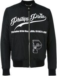 куртка бомбер с принтом Philipp Plein