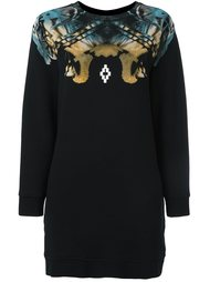 abstract print sweatshirt Marcelo Burlon County Of Milan
