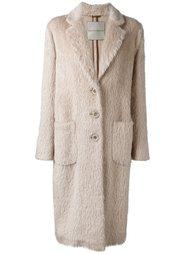 однобортное пальто  Ermanno Scervino