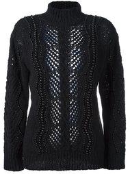 декорированный свитер  Ermanno Scervino