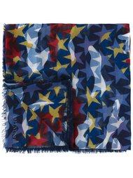 платок со звездами Valentino