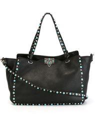 сумка-тоут 'Rockstud' с бирюзовой отделкой Valentino