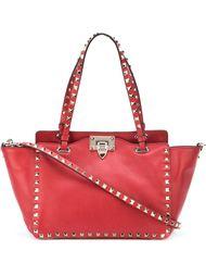 сумка-тоут трапециевидной формы 'Rockstud'  Valentino