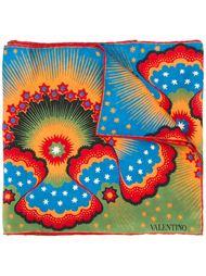 шарф с принтом 'Volcano & Stars' Valentino