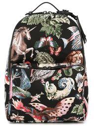 рюкзак с принтом животных Valentino