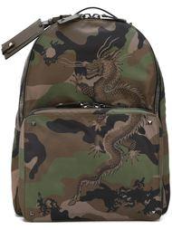 камуфляжный рюкзак 'Chinese dragon' Valentino