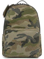 камуфляжный рюкзак 'Rockstud' Valentino
