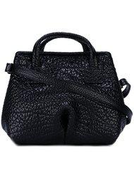 текстурированная мини сумка-тоут Marsèll