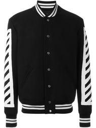 университетская куртка Off-White
