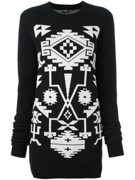 платье-свитер 'Longavi' Marcelo Burlon County Of Milan