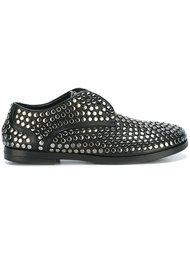 туфли с заклепками и шнуровкой Marsèll