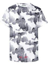 футболка с принтом зданий Off-White