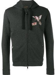 'Fantastic Animals' embroidered hoodie Valentino