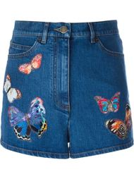 джинсовые шорты 'Camubutterfly' Valentino