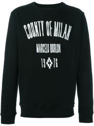толстовка 'El Mistcapurata' Marcelo Burlon County Of Milan