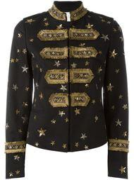 пиджак с вышивкой звезд Valentino