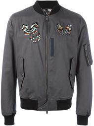 куртка-бомбер с вышивкой  Valentino