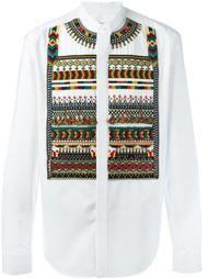 рубашка с вышивкой Valentino
