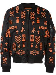 куртка-бомбер 'Alpha MA-1' Marcelo Burlon County Of Milan