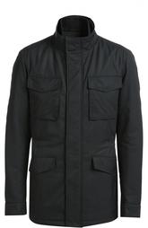 Удлиненная куртка с потайной застежкой-молнией HUGO BOSS Black Label