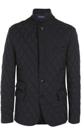Стеганая куртка с замшевой отделкой Ralph Lauren