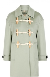 Кашемировое пальто с поясом и укороченным рукавом Burberry Brit
