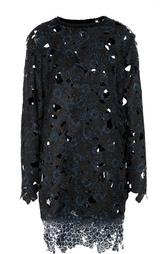 Кружевное пальто прямого кроя Elie Tahari