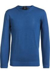 Джемпер из смеси шерсти и шелка HUGO BOSS Black Label
