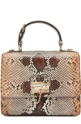 Сумка Monica из кожи питона Dolce & Gabbana