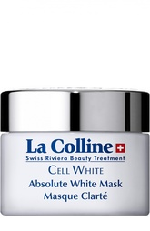 Отбеливающая маска для лица Absolute White Mask La Colline